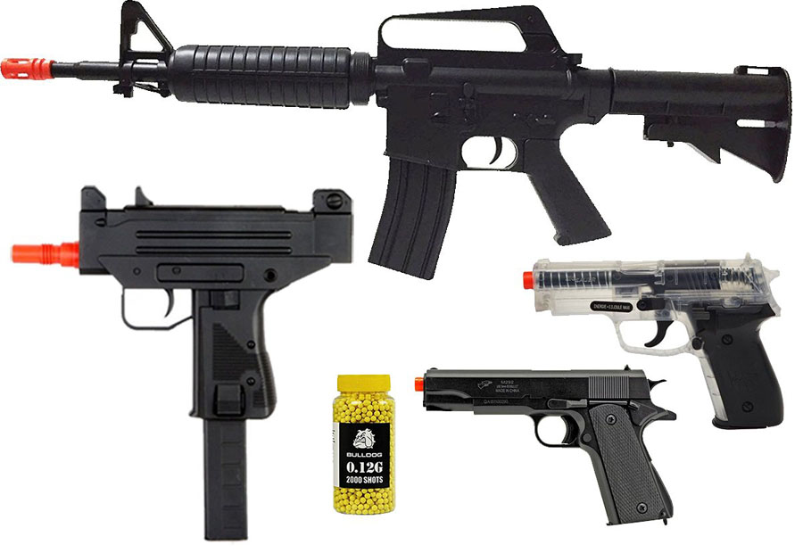 Electric Airsoft Handguns – Easy To Handle, Hard To Beat
