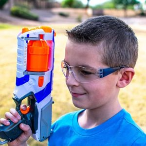 Kids safety glasses for nerf parties